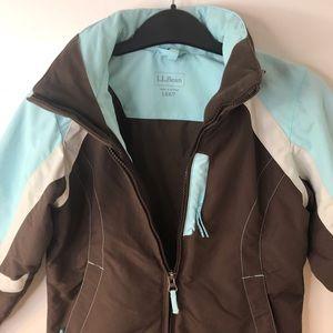 L.L.Bean Girls Peak Waterproof Jacket